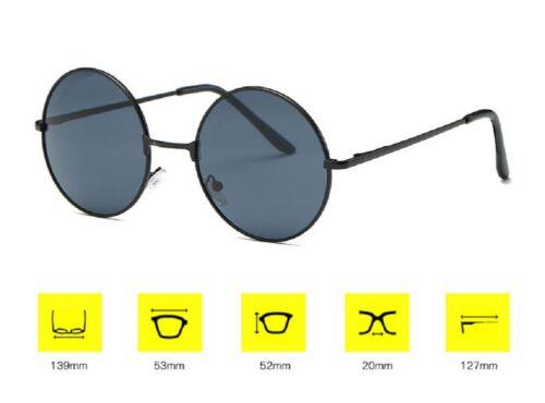 John Lennon Style Round Style Hippie 50s 60s Sunglasses  Retro Festival Party UK