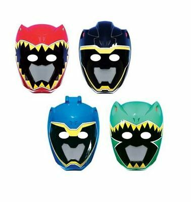 8 Power Rangers Dino Charge Party Cardboard Masks