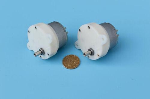 DC 3V 5V 6V 9V 250RPM Micro 500 Solar Power engine Slow Speed Gearbox Gear Motor