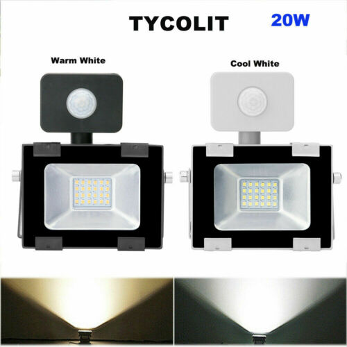 LED Motion Sensor Flood Light 100W 50W 30W 20W 10W Outdoor Lamp Spotlight IP65