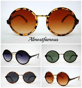 Steampunk-Vintage-retro-round-hippy-sunglasses-lady-gaga-style-uk-seller-uv400
