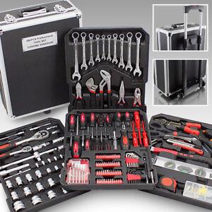 Bituxx Werkzeugkoffer 399 tlg. Bestückt Trolley Werkzeugkasten Werkzeugkiste Set