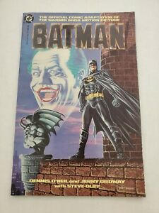 Batman 1989 Dc Comics Adaptation 1st Keaton Batman