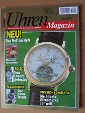 Uhren-Magazin Nr. 4 1995 - Uhren Zeitschrift, Uhrenheft, Magazin