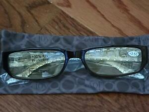 Joy Mangano Reading Glasses  (3.5 strength)  Brown