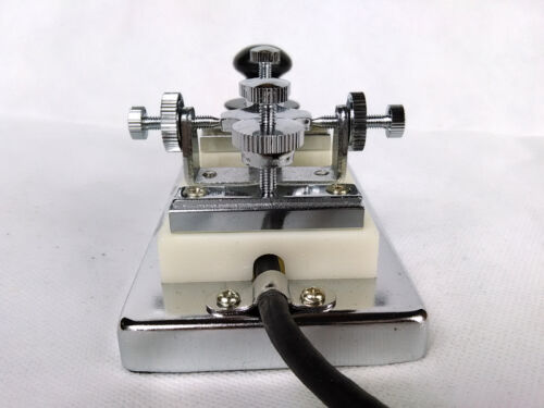 2018 Ham Shortwave HF Radio CW Morse Telegraph key K-4 K4 Heavy Hand Key Keryer