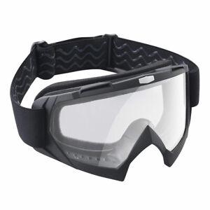 Motorcycle-Goggles-Bendable-Dirt-Bike-Motocross-ATV-Riding-Glasses-Clear-Lens