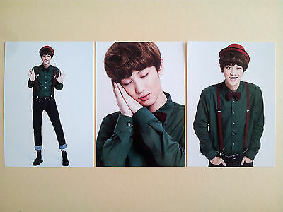 EXO Pop Up Store Official Goods Miracles in December Post Card  - Chanyeol /NEW
