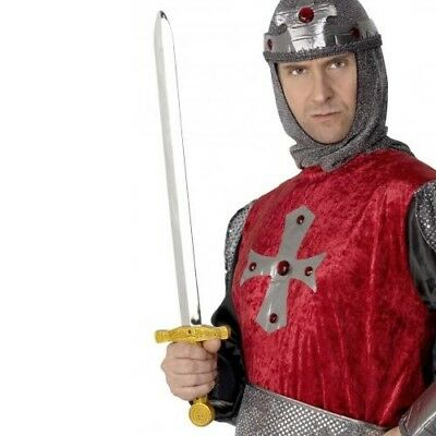 Boy/'s Fancy Dress Crusader Knight Shield Sword Axe Medieval Book Day Toys Kids