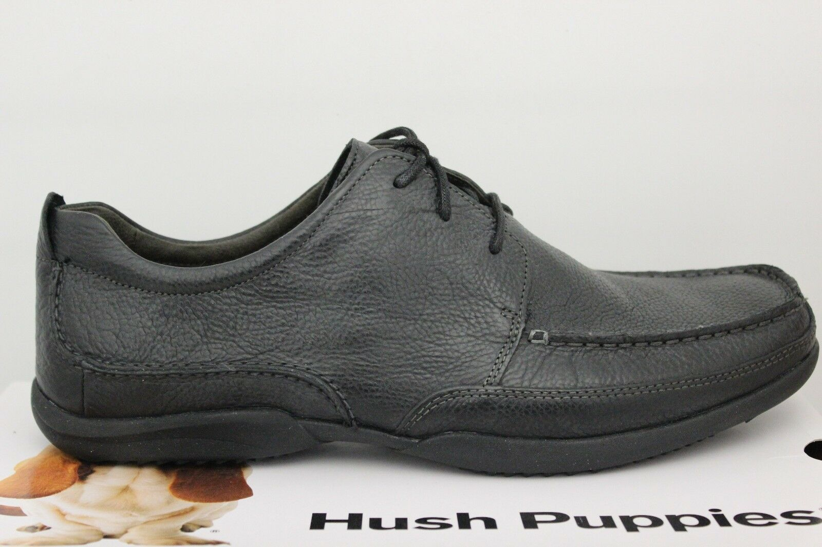 Uomo Hush Puppies Puppies Puppies Accel Oxford_MT nero Leather Dimensione 11.5 Extra Wide 103342 New 9d1584