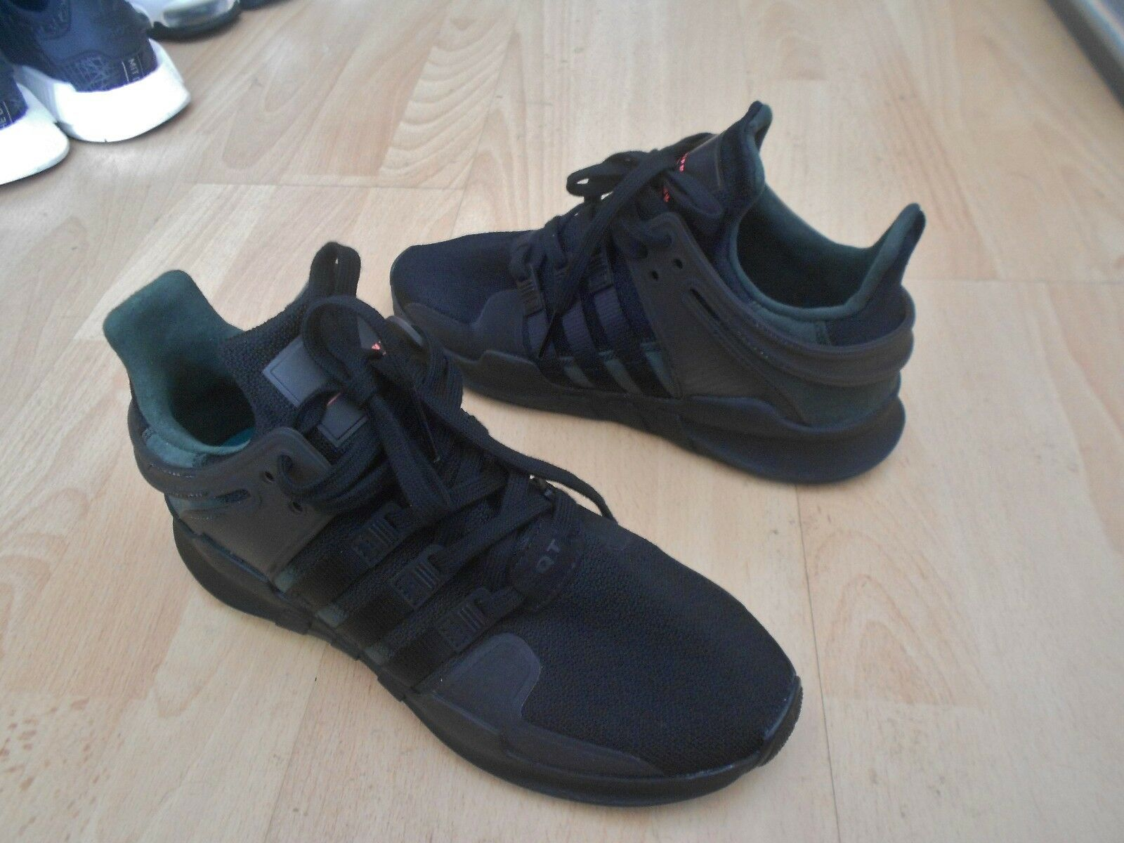 ADIDAS EQT ADV 91-16 TRAINERS UK SIZE 7 -  IN VERY GOOD CONDITION - HARDLY USED