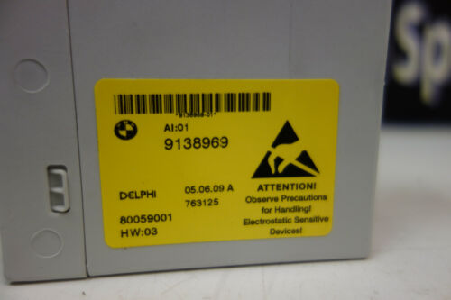 BMWCENTER CONSOLE POWER MODULE E60 528i 535i 550i M5 08-10 P# 61319138969