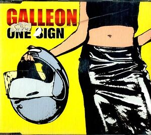GALLEON-One-Sign-CD-Single-Near-Mint