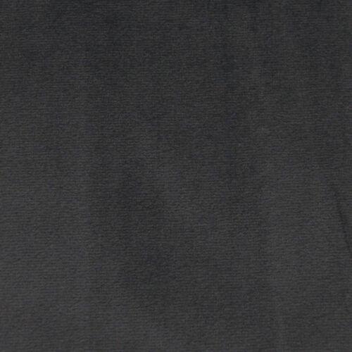 Mf28t Deep Grey Thick Microfiber Velvet 3D Box Seat Cushion Cover Custom size