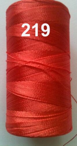 Clr.1 Flat 1 Embroidery Machine Thread Spool Rayon Viscose Silk 150 Free Pstg