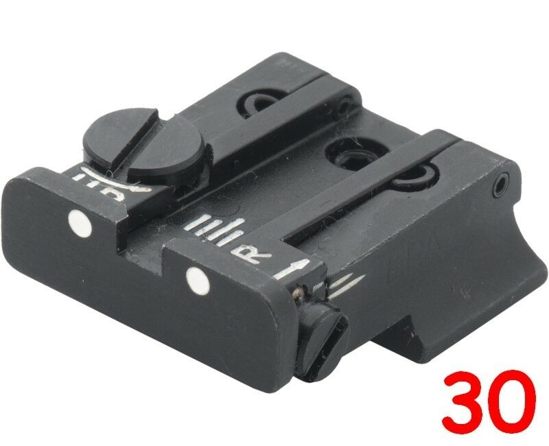 LPA rear sight for S&W Cal.10, 45 3rd gen. (To repl.).