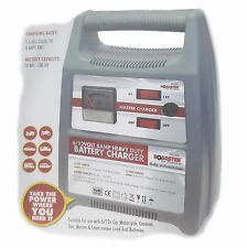 8 AMP Portable Heavy Duty Battery Charger 6V / 12V For Car Van Motorcycle Boat