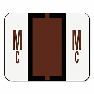 Smead A-Z Color-Coded Bar-Style End Tab Labels Letter S Pink 500//Roll 67089