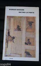 Giorgio Bassani - Dietro la porta - Prima edizione Einaudi 1964