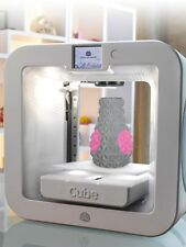 CUBE 3rd GENERATION WIRELESS 3D PRINTER, WHITE LIMITED QUANTITY,MSRP $999