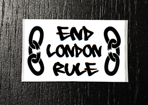 END LONDON RULE! Lockdown Tory,Liberty 25-1000 Sticker Packs - Independence