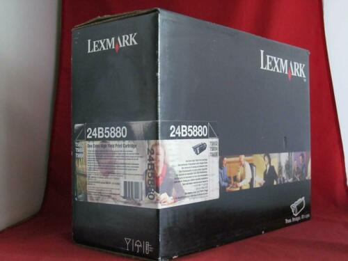 Genuine OEM Lexmark 24B5880 Black Extra High Yield Toner Cartridge T654 30K