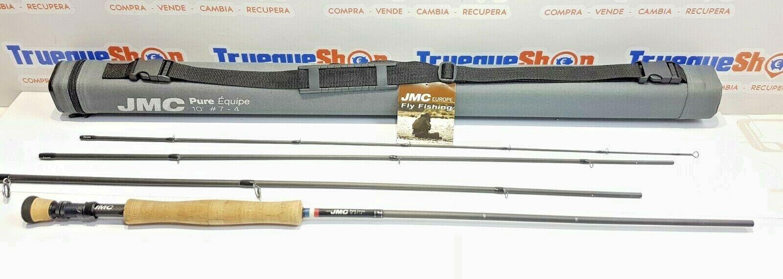 Caña mosca JMC PURE EQUIPE - 10' - #7 - 4