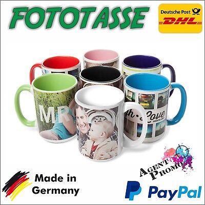 Tasse mit Individuellen Druck Tassendruck Werbetasse Kaffetasse NEU!! Fototasse