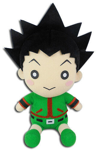Hunter X Hunter 7/'/' Gon Sitting Plush Doll Anime Licensed NEW