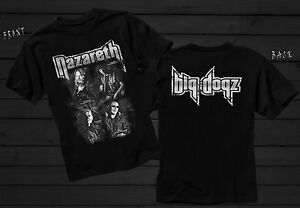 89e89924255f13 NAZARETH- Big Dogz - Scottish hard rock band - T-shirt sizes S to ...