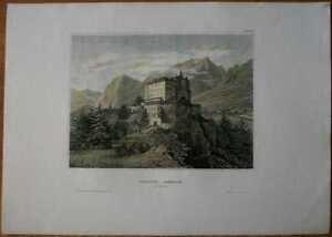1841-Meyer-print-SCHLOSS-AMBRAS-INNSBRUCK-TIROL-AUSTRIA-23