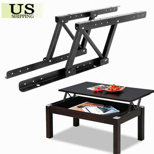 1pair Top Coffee Table Furniture Mechanism Lift Up Hardware Fitting