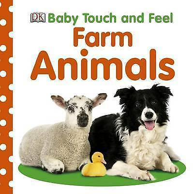 1 of 1 - Baby Touch and Feel Farm Animals (BABY TOUCH & FEEL)-ExLibrary