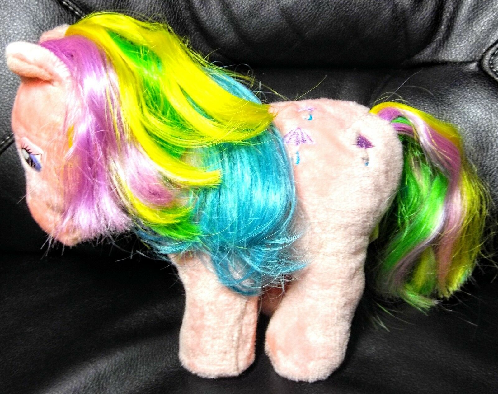 MLP My Little Pony Parasol G1 1984 Plush Softies Korea K-89 10