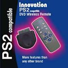PS2 Sony Playstation DVD video game Remote Receiver Wireless Controller New