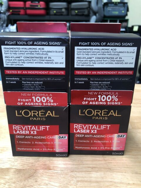 LOREAL Paris Revitalift Laser x3 deep anti-ageing care DAY Cream, L'oreal