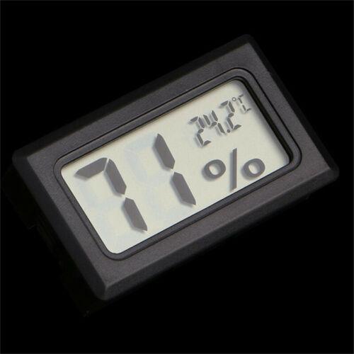 Mini Digital LCD Thermometer Hygrometer Temperature Humidity Meter Indoor Gauge