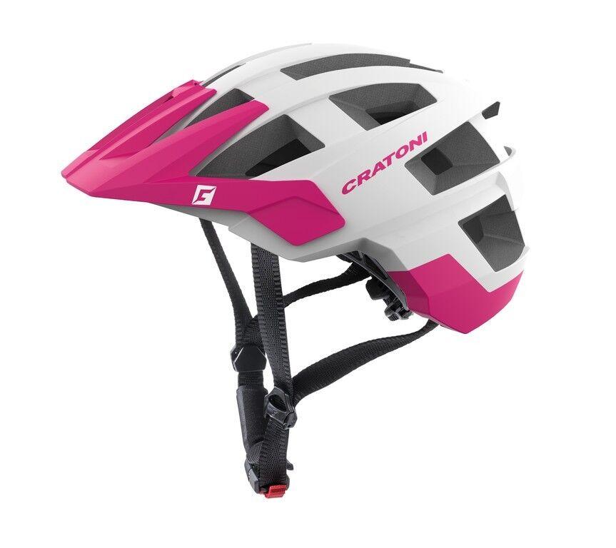 Cratoni allset Bike Helmet    blanc rose Matt