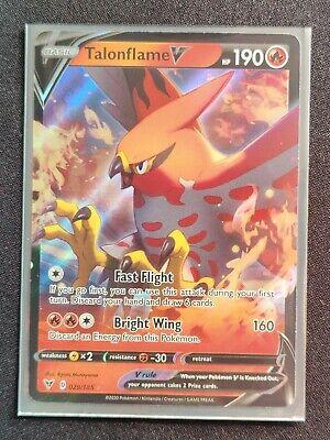 Pokemon Card Vivid Voltage 029//185 29//185 Talonflame V Ultra Rare
