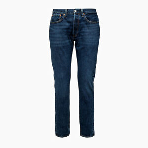Jeans-uomo-LEVI-039-S-501-Skinny-342680043-Coupe-Skinny-Col-LUTHER-BLUE-WARP-Lis110