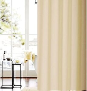 Solid beige shower curtain 1.8m new free shipping