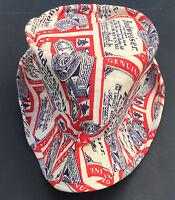 Vtg Budweiser Gilligans Style Bucket Hat Cap Xlarge