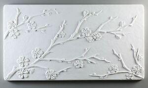 Glass Fusing Snowflake Texture Tile Mold