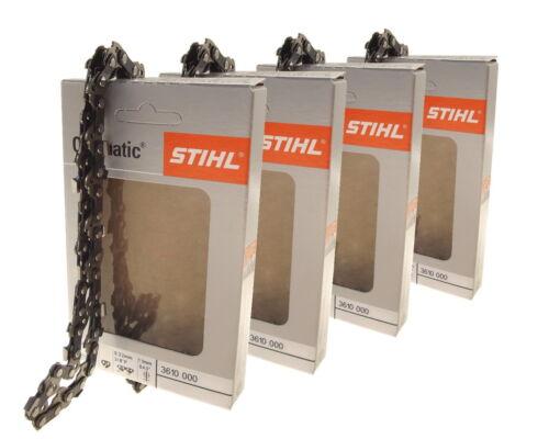4x30cm Stihl Picco Micro Mini Kette für Stihl MS170 Motorsäge Sägekette 3//8P 1,1