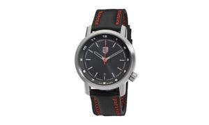 Porsche-Men-039-s-911-Essential-Watch-Chronograph-Black-Silver-Swiss-Ronda-3-Bands