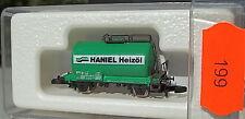 Haniel huile de chauffage, chaudière verte, wagons-citernes Kolls 87710 Marklin