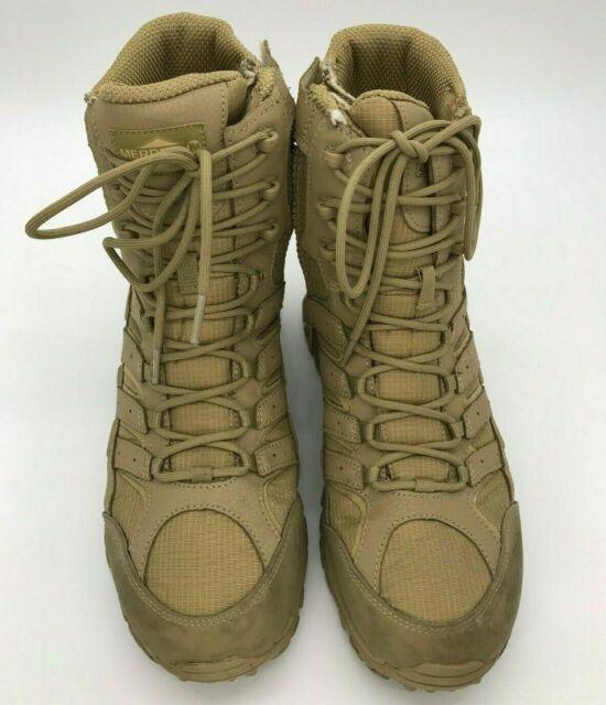 merrell moab 2 mid coyote tactical waterproof boot green