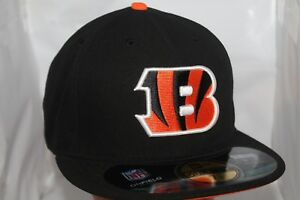 timeless design 2de76 caead Image is loading Cincinnati-Bengals-NFL-New-Era-59Fifty-On-Field-