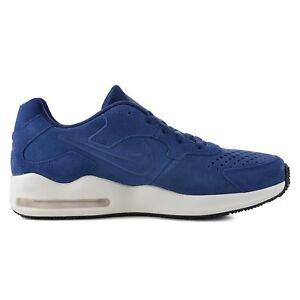 Dettagli su SCARPE NIKE AIR MAX GUILE PREM sneakers uomo blu camoscio 916770 400 nuove