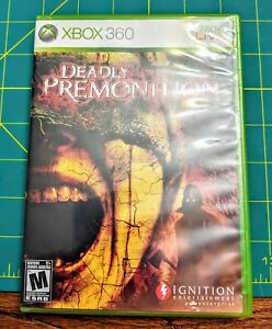 NEW-Other-Deadly-Premonition-Microsoft-Xbox-360-2010-Rare-Game-Mystery-amp-Murder